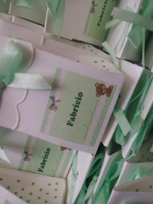 Mini caixinha de sabonete