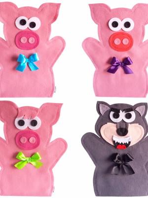Fantoche - Os Três Porquinhos