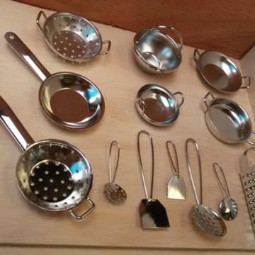 kit mini utensílios 14 peças