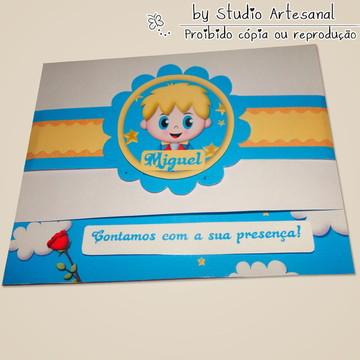 Convite Especial Pequeno Príncipe