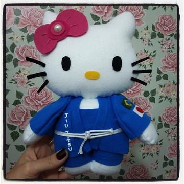 Hello Kitty em Feltro