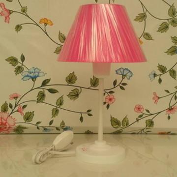 Abajur Infantil Liso Pink