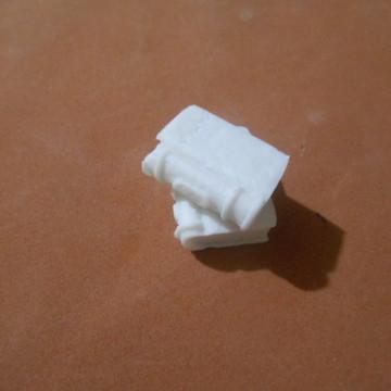 2 Livros miniatura de resina **