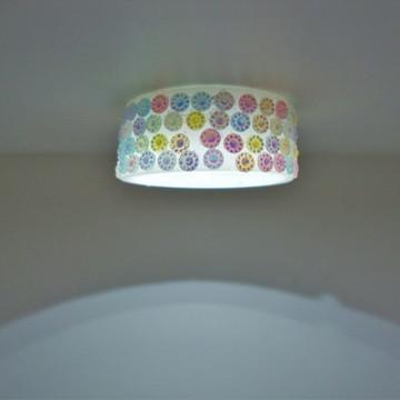 Iluminação Lustre multicolorido
