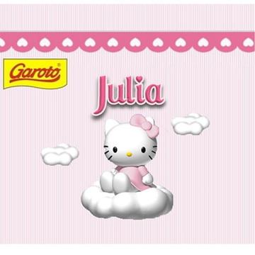 Rótulo para Baton Hello Kitty