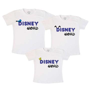 Camisetas Viagem Disney Word orelhas