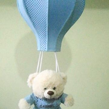 LUSTRE INFANTIL urso paraquedista