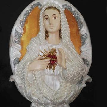 Medalhão Sagrado Coração de Maria 40cm