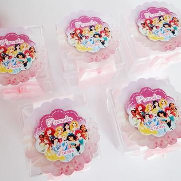 Caixinha Acrílico Princesas Disney
