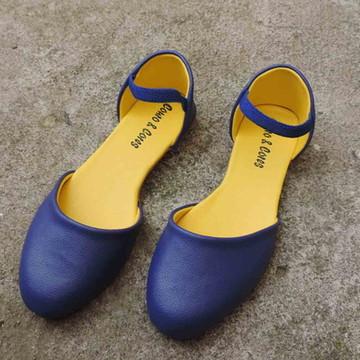 Sapatilha Vegano - Azul   Amarelo