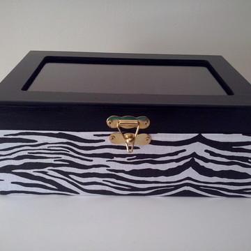 Porta relógio zebra com almodafinhas!!!