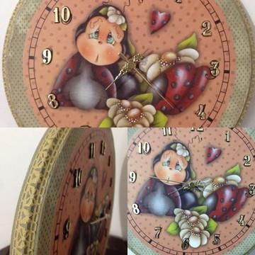 Relógio Joaninha