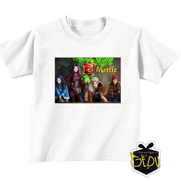 Descendentes Camiseta Personalizada
