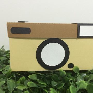 Caixa maquina fotografica