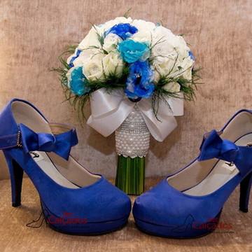 Sandália Nó Azul ROYAL