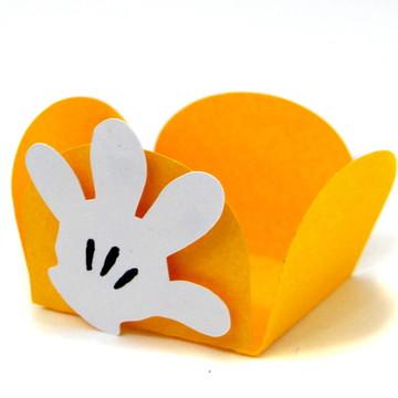 Forma Doce Luva Mickey