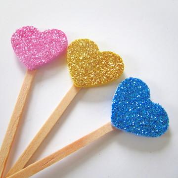 Pick Glitter Doce Lar