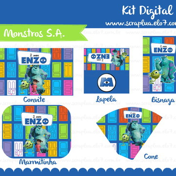 Kit Digital Monstros S.A.