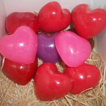 Sabonete coração médio
