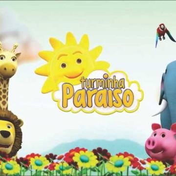Painel Turminha Paraíso G - Frete Grátis