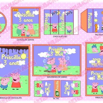 Kit Festa Digital - Peppa Pig