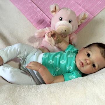 Bebê reborn Manuella 2016. ADOTADA!!