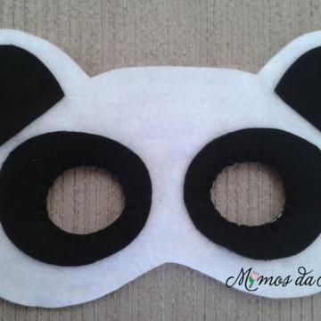 Máscara Panda em feltro - ref. 405