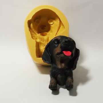 Cachorro Salsicha - molde de silicone