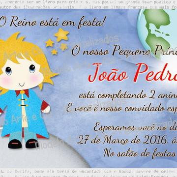 Convite Pequeno Príncipe - 5