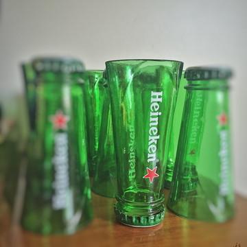 Shot de garrafa Heineken