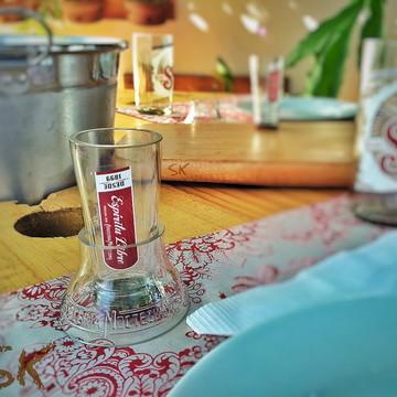 Shot/Suporte Shot - garrafa Sol Mexicana
