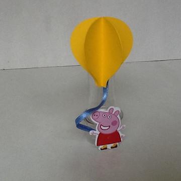 Tubete balão festa peppa
