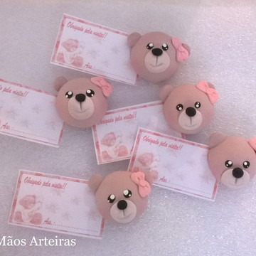 Aplique/lembrancinha maternidade ursinho
