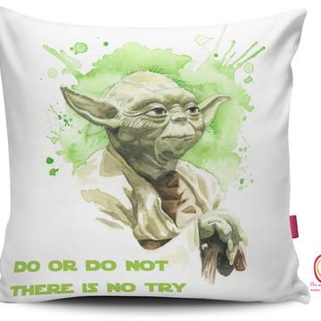 Capa de Almofada Star Wars Mestre Yoda