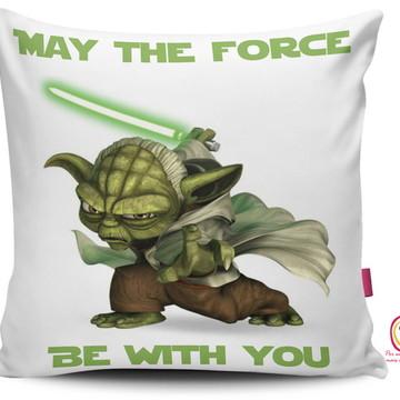 Capa Almofada Star Wars Yoda Force