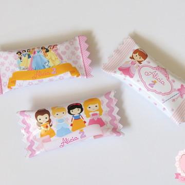 Bala Personalizada Princesas