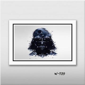 Quadro Star Wars - Darth Vader 60x40cm N7 Decoracao Quarto