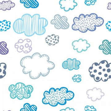 Papel de parede Nuvens Decor 01
