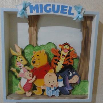 Placa de porta turma do Pooh