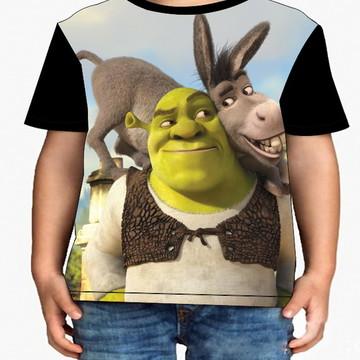 Camiseta Infantil Shrek - Infantil
