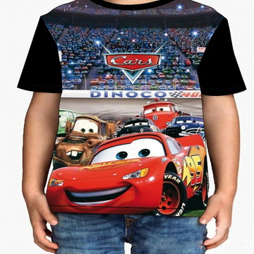 Camiseta Infantil Carros - Infantil