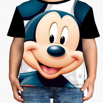 Camiseta Infantil Mickey - Infantil