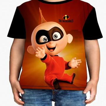 Camiseta Infantil Os Incríveis Infantil