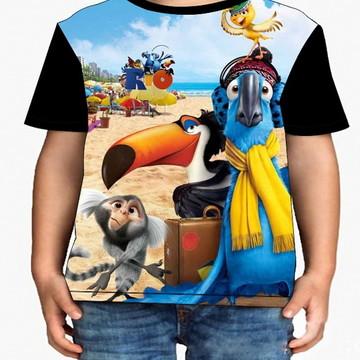Camiseta Infantil Rio - Infantil