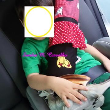 Almofada para cinto de segurança Minie