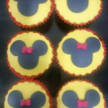 Mini cupcake Minnie e Mickey