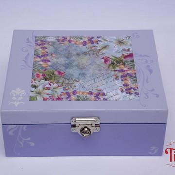 Caixa de Joias Floral