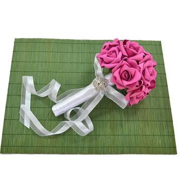 Buquê Noiva Madrinhas Daminhas Rosa Pink