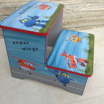 Escadinha Super Wings