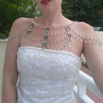 Acessório Noiva Cristalino